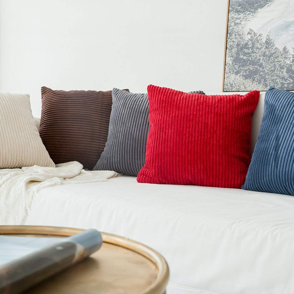 DIY Throw Pillow Case Cushion Cover Sham Home for Sofa Chair Couch/Bedroom